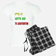 Let's go to Liechtenstein Pajamas