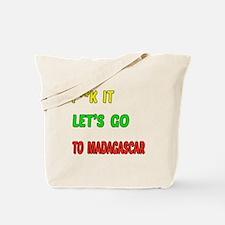 Let's go to Madagascar Tote Bag