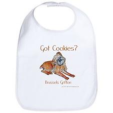 Brussels Griffon Cookies! Bib