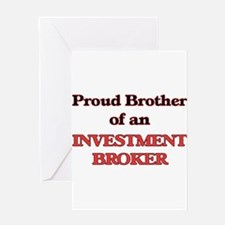 Proud Brother of a Investment Broke Greeting Cards