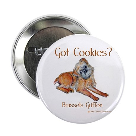 Brussels Griffon Cookies! Button