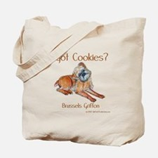 Brussels Griffon Cookies! Tote Bag