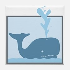 Whale Animal Tile Coaster