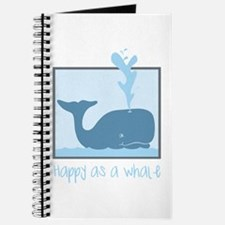 Happy Whale Journal