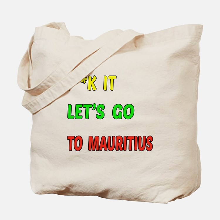 Let's go to Mauritius Tote Bag