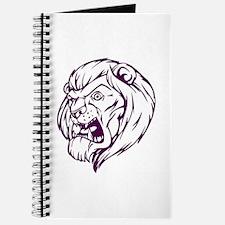 Lion Mascot (Purple) Journal