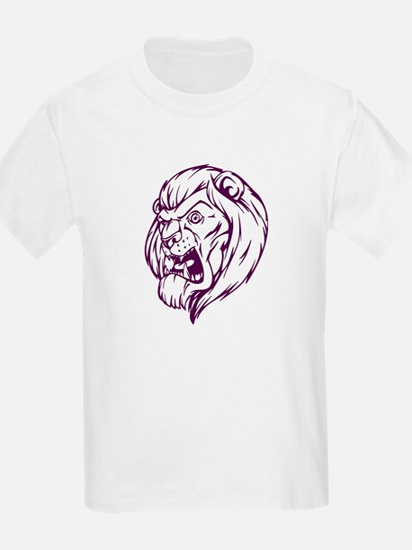 Lion Mascot (Purple) T-Shirt