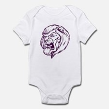 Lion Mascot (Purple) Infant Bodysuit