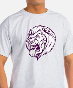 Lion Mascot (Purple) T-Shirt