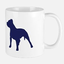 Pitbull Blue 2 Mugs