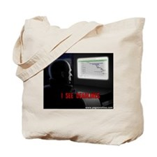Cute I see dead people Tote Bag