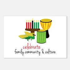 Celebrate Family Postcards (Package of 8)