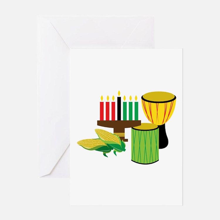Kwanzaa Celebration Greeting Cards