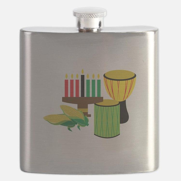 Kwanzaa Celebration Flask