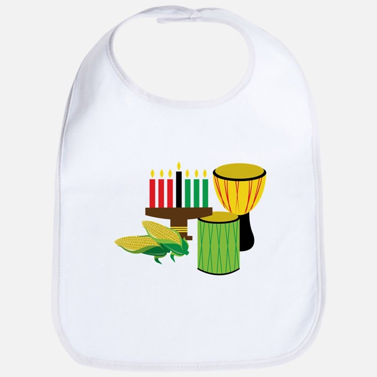 Kwanzaa Celebration Bib