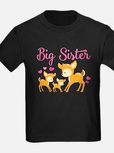 Big Sister Deer T-Shirt