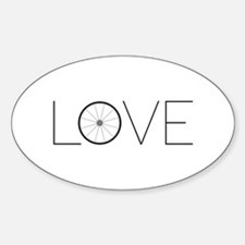 Love Wheel Decal