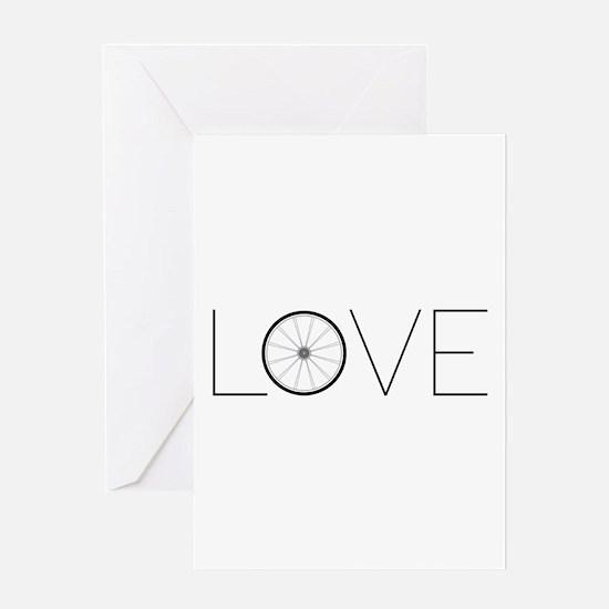 Love Wheel Greeting Cards
