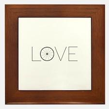 Love Wheel Framed Tile