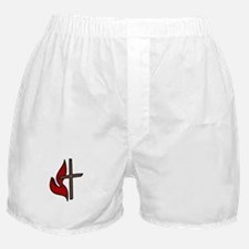 Cross And Flame Boxer Shorts