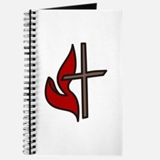 Cross And Flame Journal