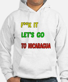Let's go to Nicaragua Hoodie