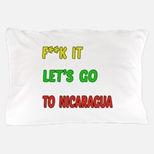 Let's go to Nicaragua Pillow Case