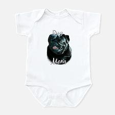 Pug Mom2 Infant Bodysuit