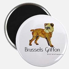 Brussels Griffon Magnet