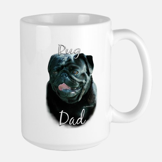 Pug Dad2 Large Mug