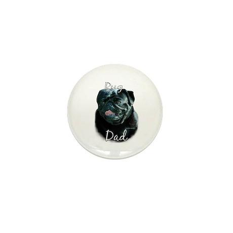 Pug Dad2 Mini Button