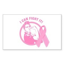 Rosie I Can Fight It Rectangle Decal