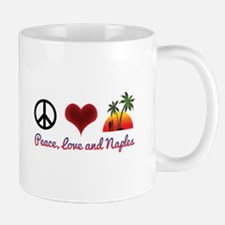Peace, Love and Naples Mugs