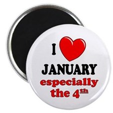 """January 4th 2.25"""" Magnet (10 pack)"""