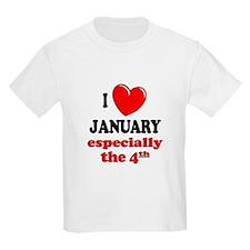 January 4th T-Shirt