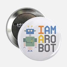 """I Am A Robot 2.25"""" Button (10 pack)"""