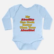 Abuelito Cooks Better Body Suit