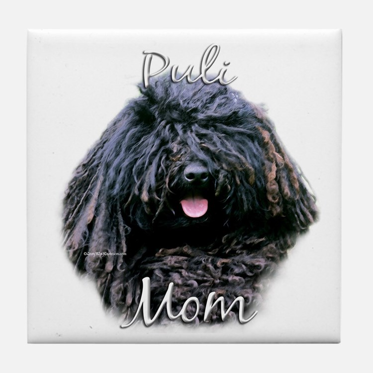 Puli Mom2 Tile Coaster