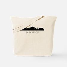 Saskatoon Saskatchewan Cityscape Tote Bag