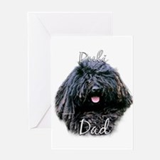 Puli Dad2 Greeting Card