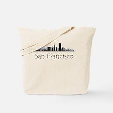 San Francisco California Cityscape Tote Bag