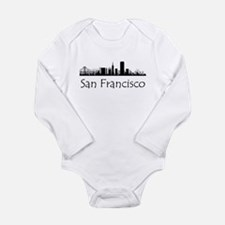 San Francisco California Cityscape Body Suit