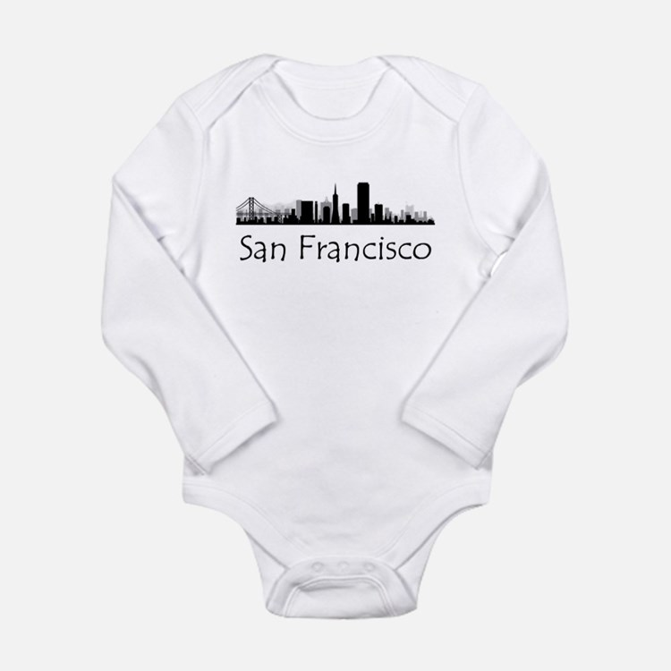Baby Gift Baskets San Francisco : San francisco skyline baby clothes gifts clothing