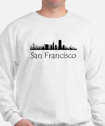 San Francisco California Cityscape Sweatshirt