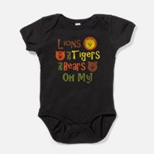 Unique Lion Baby Bodysuit
