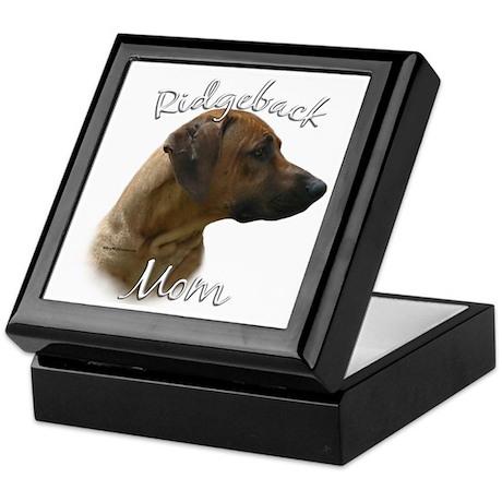 Ridgeback Mom2 Keepsake Box