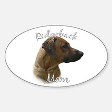 Ridgeback Mom2 Oval Decal