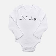 Cute New york city Long Sleeve Infant Bodysuit