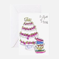 A Spot of Tea Note Card Greeting Cards