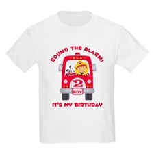 Cute Fire trucks T-Shirt